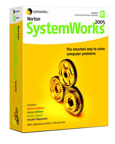 amazon com norton systemworks 2005 [antivirus, utilities, gobackimage unavailable image not available for color norton systemworks 2005