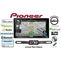 Pioneer AVIC-7200NEX Double Din Navigation Multimedia DVD Receiver with 7 WVGA Touchscreen w/ Backup Camera and FREE SOTS Air Freshener