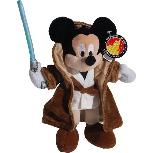 Jedi Mickey Mouse - Star Wars Exclusive Disney Bean Bag Plush -