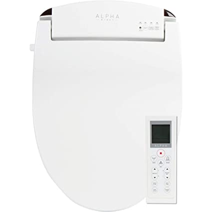 Fantastic Alpha Jx Elongated Bidet Toilet Seat White Endless Warm Water Rear And Front Wash Led Light Quiet Operation Easy Wireless Remote Control Low Alphanode Cool Chair Designs And Ideas Alphanodeonline