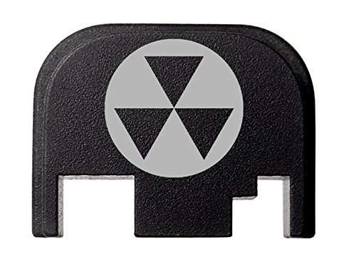 NDZ Performance for Glock 17 19 21 22 23 27 30 34 36 41 Rear Plate Blk G1-4 Fallout Shelter 3
