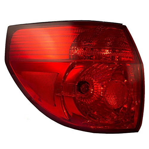 Drivers Taillight Quarter Panel Mounted Tail Lamp Replacement for Toyota Van 81560AE020