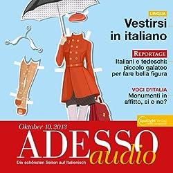 ADESSO audio - Vestirsi in italiano. 10/2013