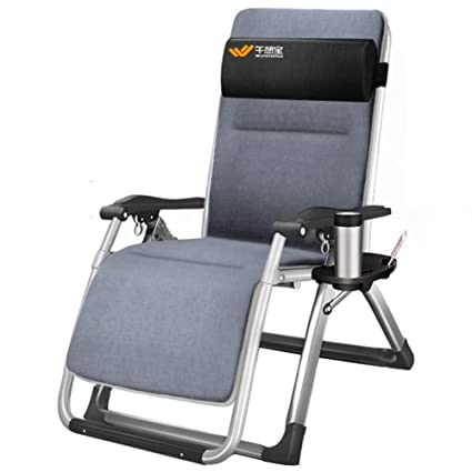 Amazon.com: DQCHAIR Silla reclinable de gravedad cero con ...