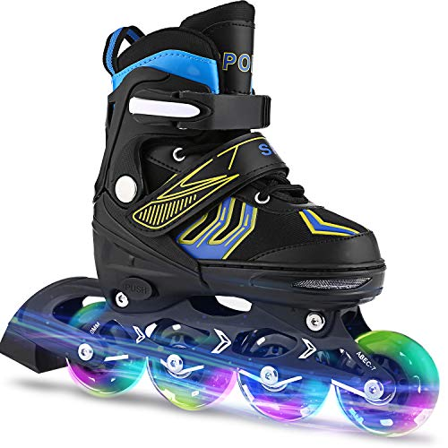ANCHEER Inline Skates Adjustable...