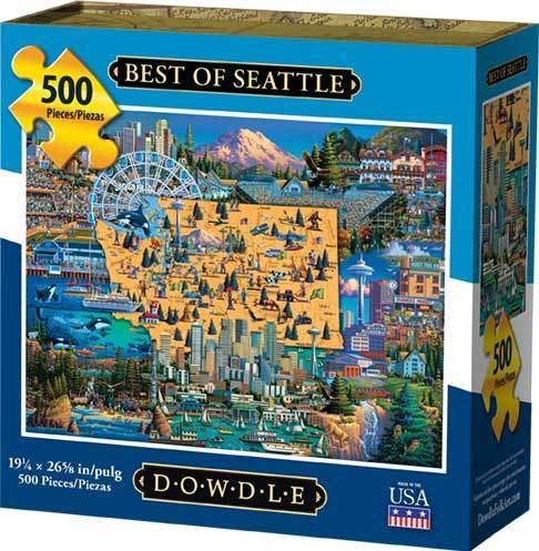 (Dowdle Jigsaw Puzzle - Best of Seattle - 500 Piece )