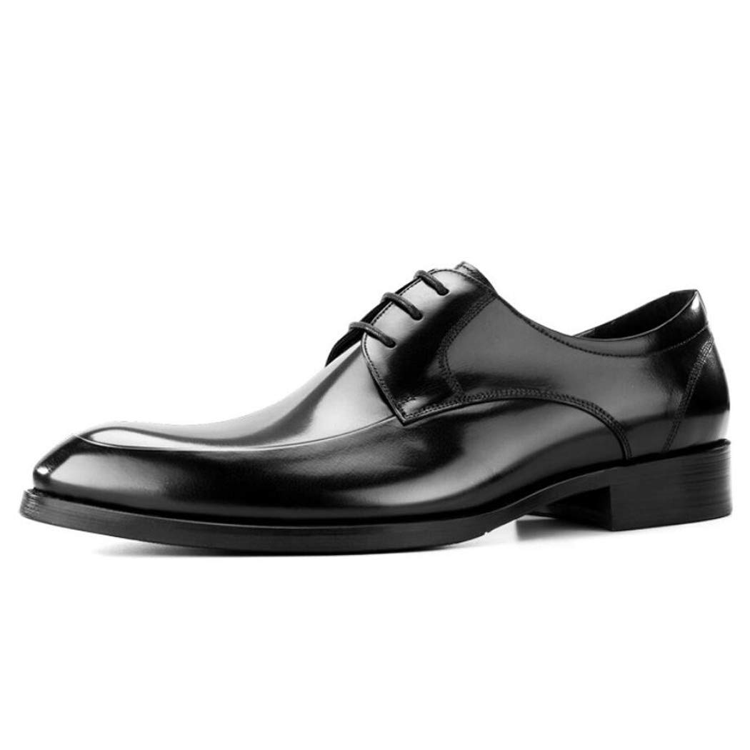 Zxcvb Lederschuhe Herren spitz Business Casual Casual Casual Schuhe Leder Wildleder Herrenschuhe a8eec9
