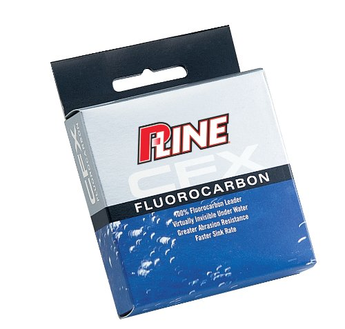 P-Line CFX Fluorocarbon Leader Material Fishing Spool (27-Yard, 50-Pound), Outdoor Stuffs