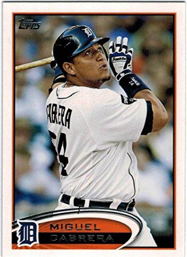 2012 Topps Baseball Series 1 & 2 Detroit Tigers Team Set with Miguel Cabrera - Verlander - Scherzer - 22 (Tigers Team Card)