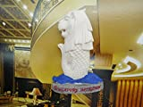 The world tourism souvenirs Singapore landmark twinkle in lion city The merlion refrigerator delicate