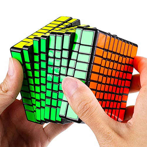 JIAAE 9X9 Professional Competition Rubik's Cube Children Puzzle Colorful Rubik Toy by JIAAE (Image #2)