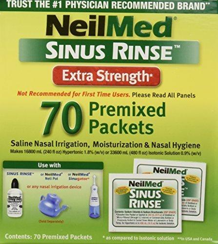 (Neilmed Sinus Rinse Extra Strength Hypertonic 70 Packets by)