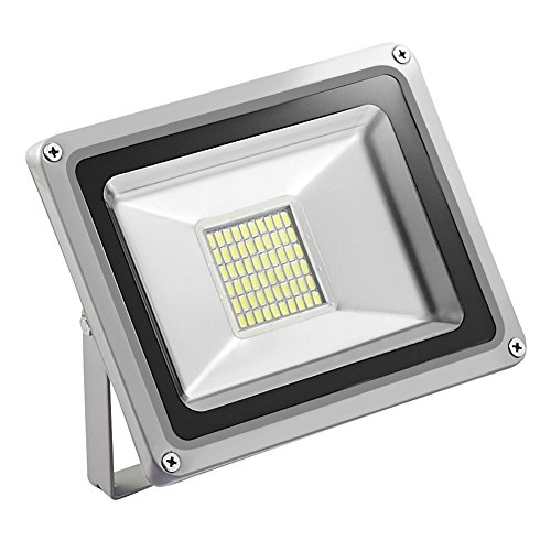 LED Flood Light,Getseason, 10W 20W 30W IP65 Waterproof,Aluminium 12V Wall Outdoor Stadium Lights,Super Bright Security Lights,for Garden,Yard,Factory,Warehouse,Square,Billboard (Daylight White, 30W)