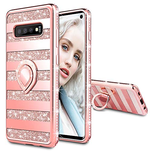 Maxdara Case for Samsung Galaxy S10 Glitter Case...