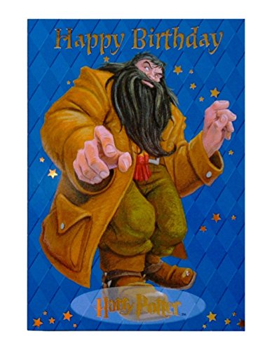 Rubeus Hagrid Happy Birthday! Greeting Card (Harry Potter)