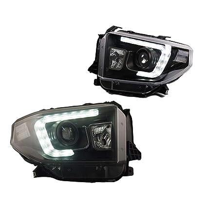 Faros delanteros para Tundra 2009-2011, proyector de doble lente ...