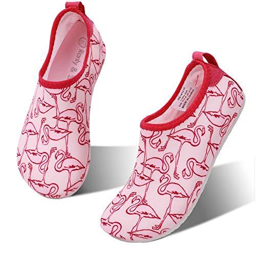 692960be hiitave Kids Swim Water Shoes Non-Slip Quick Dry Barefoot Beach Aqua Pool  Socks for