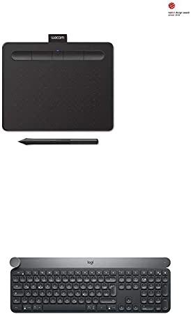 Wacom Intuos S Schwarz Stift Tablett Mobiles Computer Zubehör