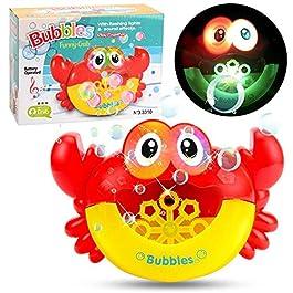Juguetes para el baño del bebé máquina de burbujas