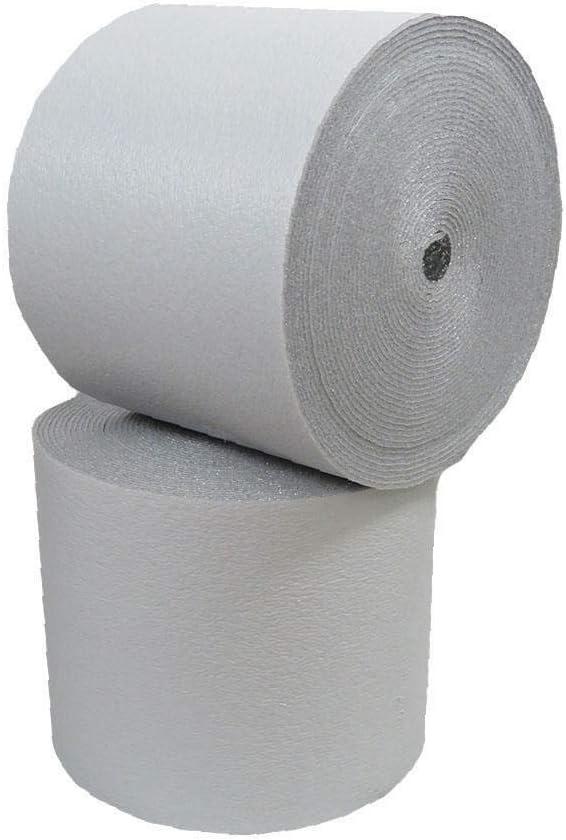 White Reflective Foam Insulation Vapor Barrier Warehouse Building 400sf 4x100