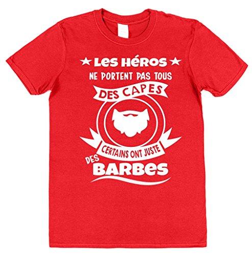 Rouge My Capes Ont Héros T Les Clobber Juste Coton Hommes shirt Click Barbes Des Ne Pas Tous Portent Certains UqzdnwP