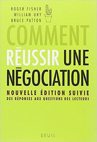 Download Comment réussir une négociation pdf
