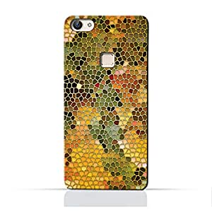 AMC Design Stained Art Glass Pattern Printed Protective Case for Vivo X6 Plus - Multi Color