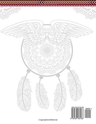 Dream Catcher Volume 1 Flower Mandalas Stress Relief Coloring Book Dreamcatcher Books For Adults DreamTeam