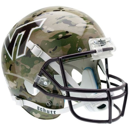 NCAA Virginia Tech Hokies Replica XP Helmet - Alternate 5 (Camo) by Schutt