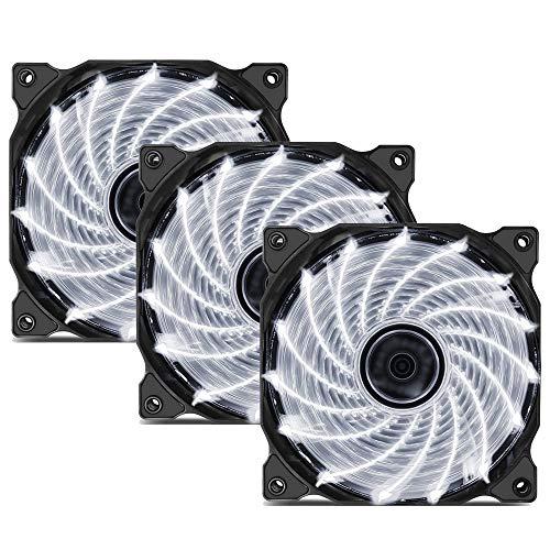 Ventilador uphere 3-Pack  15LED White,15W3-3