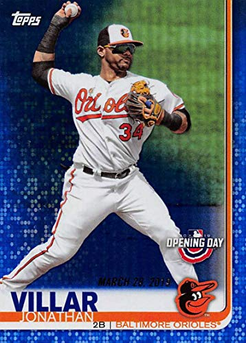 Amazon com: 2019 Topps Opening Day Blue Foil #82 Jonathan