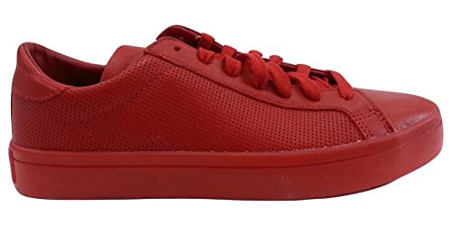 reputable site 4e296 20cfc Image Unavailable. Image not available for. Color Adidas Mens Court Vantage  Adicolor Shoes S80253 Scarlet ...
