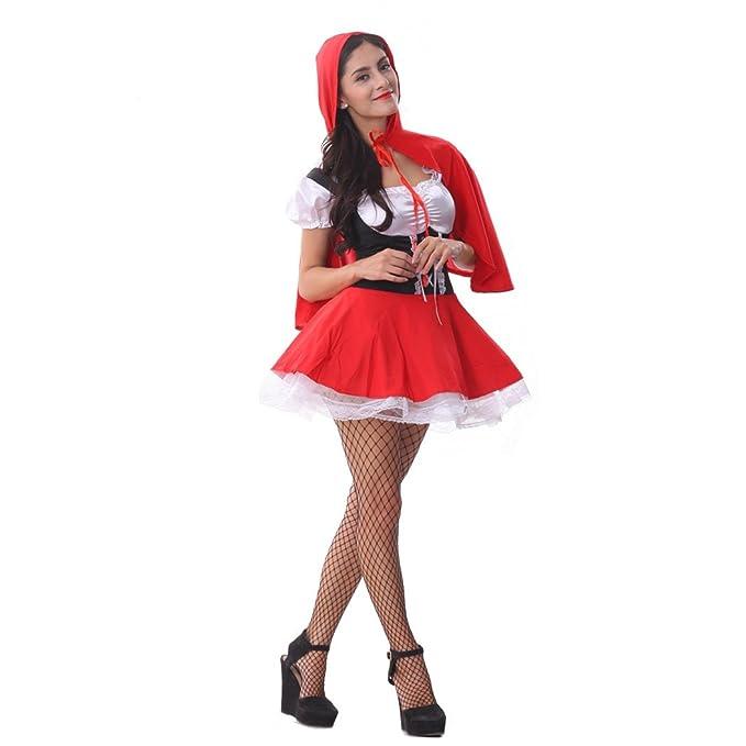 FairyTale Fräulein Rotkäppchen Rotkäppchen-Tween Kostüm: Amazon.de:  Bekleidung