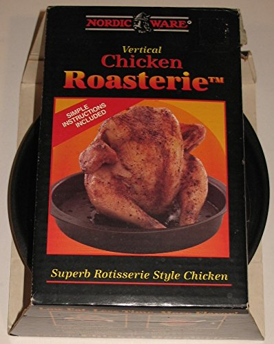 Amazon.com: Nordic Ware Vertical Chicken Roaster: Kitchen & Dining
