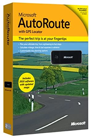 Microsoft AutoRoute (free version) download for PC