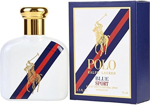 Ralph Lauren Polo Blue Sport Eau de Toilette 2.5 oz Spray by RALPH ...
