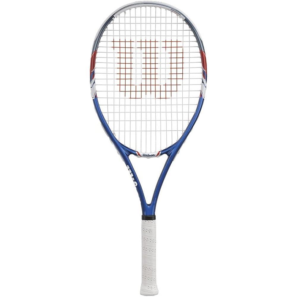 Einen guten Tennisschläger finden Sie bei der Marke Wilson.