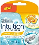 Shaving Japan Schick Intuition In Fresh Popping Skin - Blade 3 Pieces (Harajuku Culture Pack)