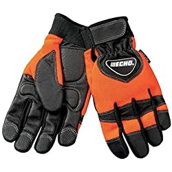 Echo OEM Chainsaw Kevlar Reinforced Protective Gloves Large 99988801601