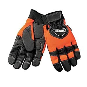 Echo 99988801601 Chainsaw Kevlar Reinforced Protective Gloves