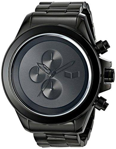 Vestal Men's ZR3008 ZR-3 Chronograph Black Minimalist Watch