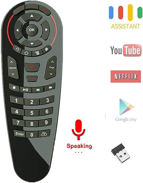 Asg Mando a Distancia de Voz HD, 2.4 G de Voz, Control Remoto ...