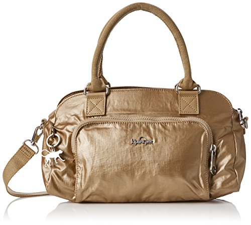Women's Alecto Body Dusty Gold Kipling Metal Bag Cross aqdPBa7w