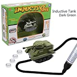 Magic Mini Pen Inductive Toy Car Truck Tank Follow Any Black Line You Draw Best Gift for Kids and Children Battery included (Green)