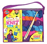 T.S. Shure Learn to Knit Set & Book