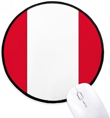 DIYthinker Perú Bandera Nacional América del Sur País Ronda ...
