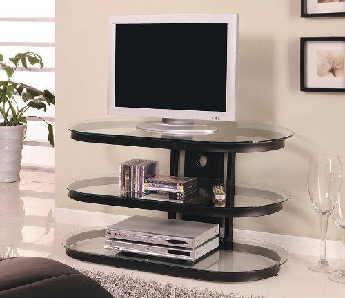 Unique Design LCD / Plasma Media Storage TV Stand (Crate Barrel Stand And Media)