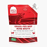 Open Farm Grass-Fed Beef Bone Broth for Dogs and