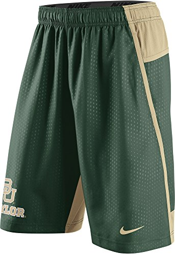 Nike Baylor Bears Men's Fly XL 3.0 Dri-FIT Training Shorts (2XL, - Gold Training Shorts Nike