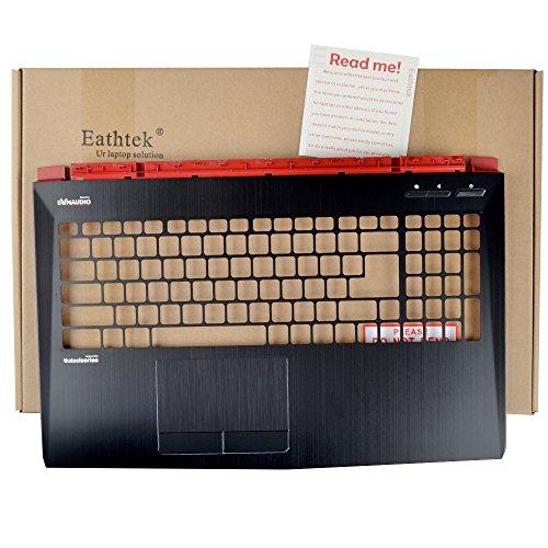Cover Palmrest Top (Eathtek Replacement Laptop Top Cover Palmrest Upper Case Cover without Touchpad Sensor Board for MSI GE62 series, Compatible with part number 307-6J3C223-Y31 3307-6J1C234-Y31)